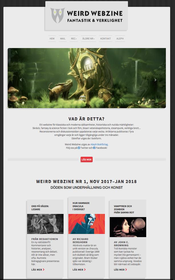 Weird Webzine