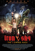 [Affischen för Iron Sky The Coming Race.]